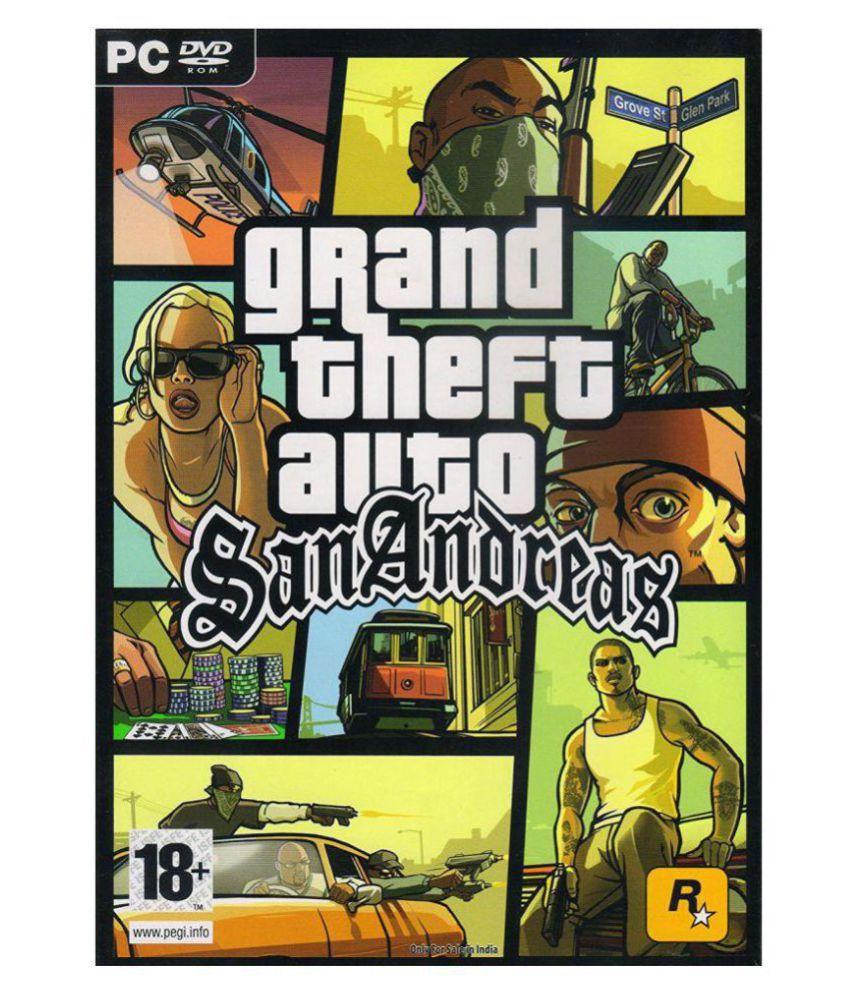 GTA SAN ANDREAS II DVD II WITH CRACK ( PC Game )