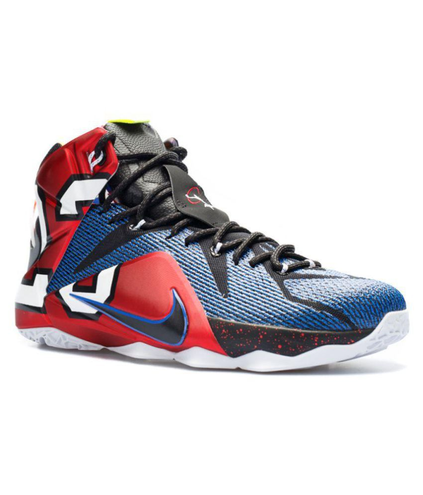 new arrival 3b515 56fd0 Nike LEBRON 12 Multi Color Basketball Shoes - Buy Nike LEBRON 12 Multi  Color Basketball Shoes Online at Best Prices in India on Snapdeal