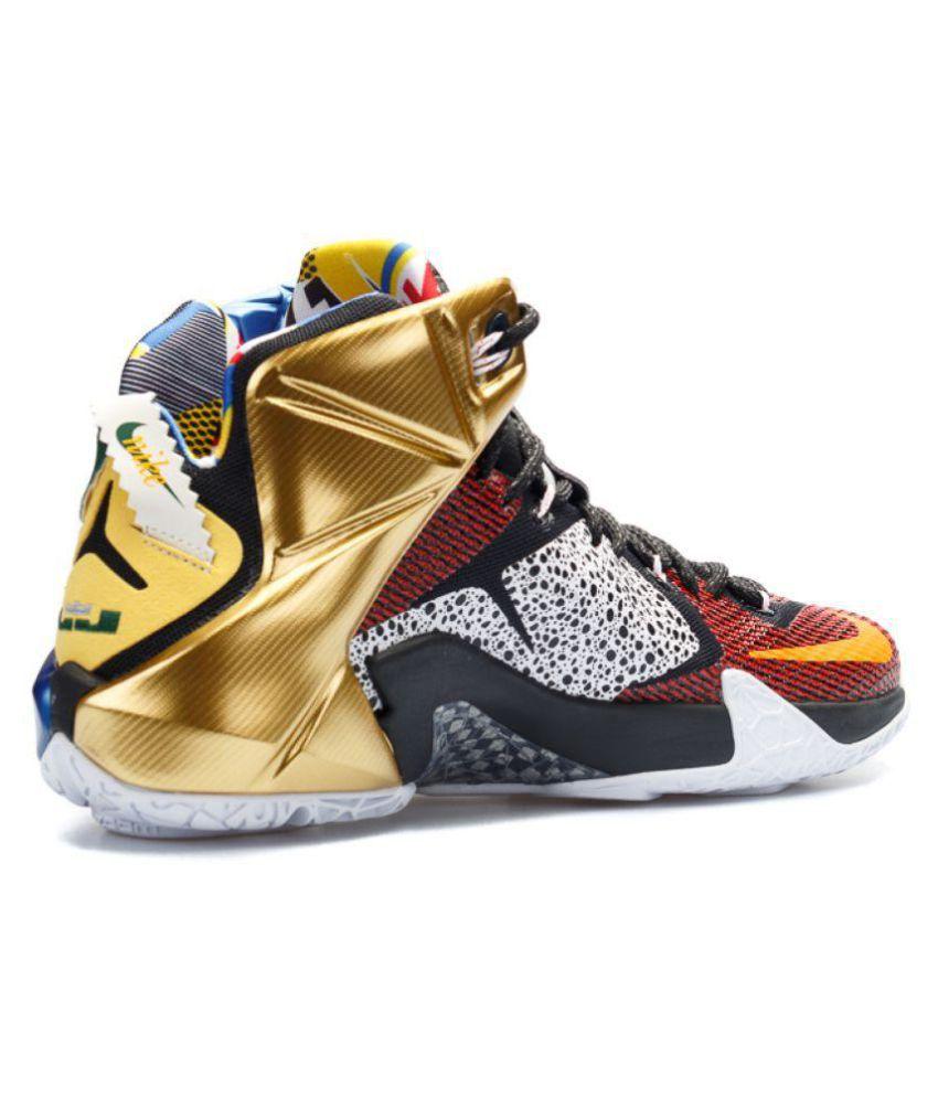 27f398dc3eb2 Nike LEBRON 12 Multi Color Basketball Shoes - Buy Nike LEBRON 12 ...