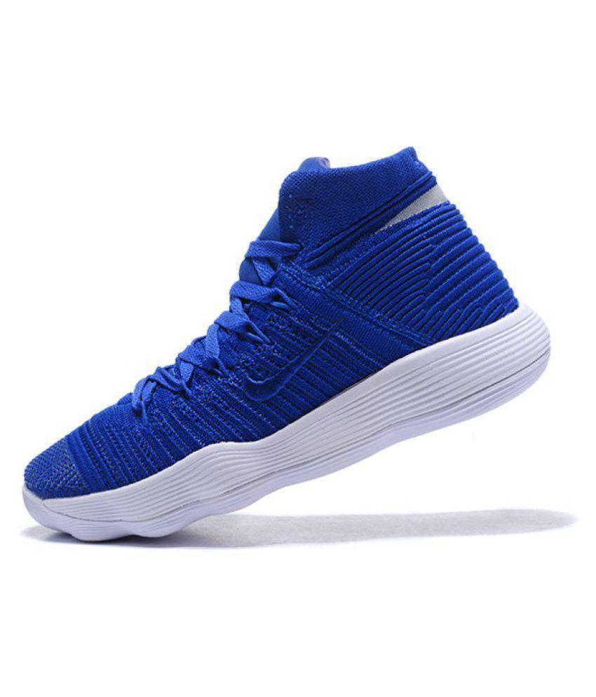 649449eb66cdb Nike hyperdunk 2018 flyknit Blue Basketball Shoes - Buy Nike ...