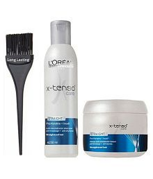 longlasting Brush & X-TENSO Care Shampoo + Conditioner 230 ml
