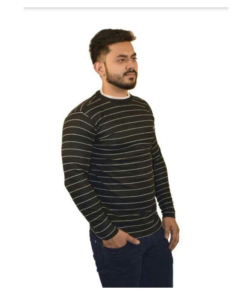CamboMill Black Full Sleeve T-Shirt