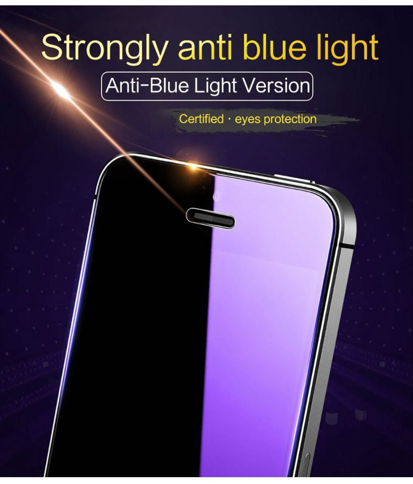 ... Oppo A71 AntiGlare Screen Guard By ELEF Anti Blue Ray Eye Protector Tempered Glass ...