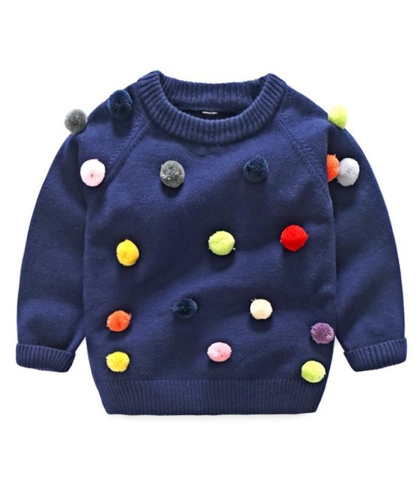 87b649475 Baby Girl Girls Knit Sweater Spring Autumn Clothes Soft Long Sleeve ...