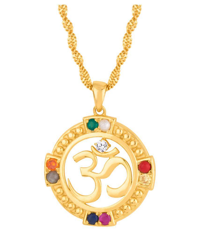Voylla Gold Brass & Copper etc Pendants