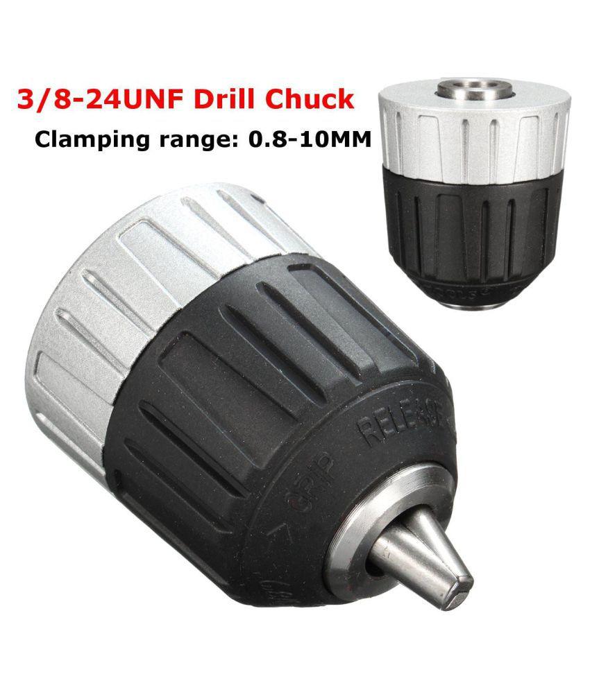 """0.8-10mm Keyless Drill Chuck Converter 3//8/"""" 24UNF   Best  GG"""