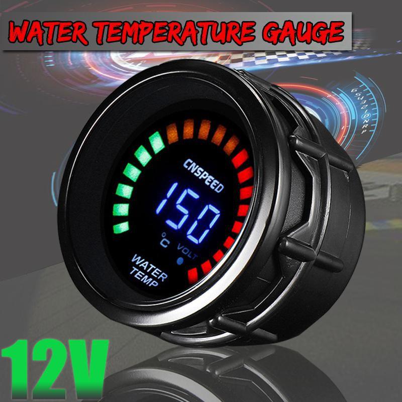 Buy Water Temp Gauge 12V Digital 52mm 2