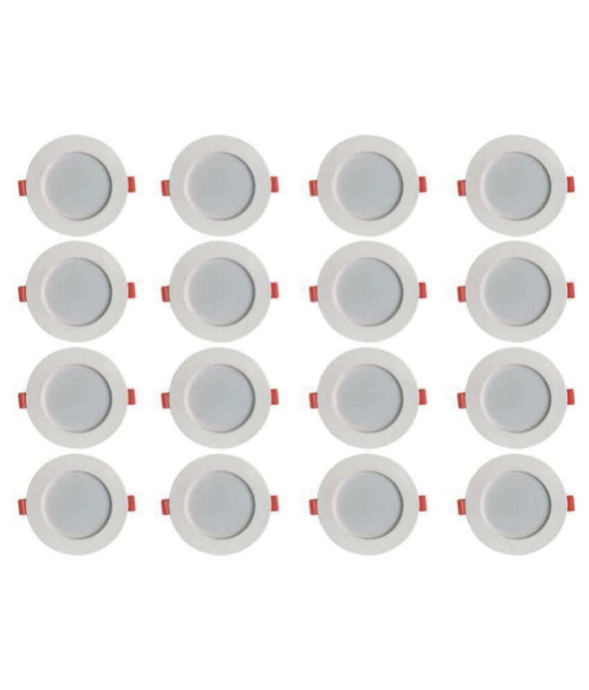 Bene 7W Round Ceiling Light 11.5 cms. - Pack of 16