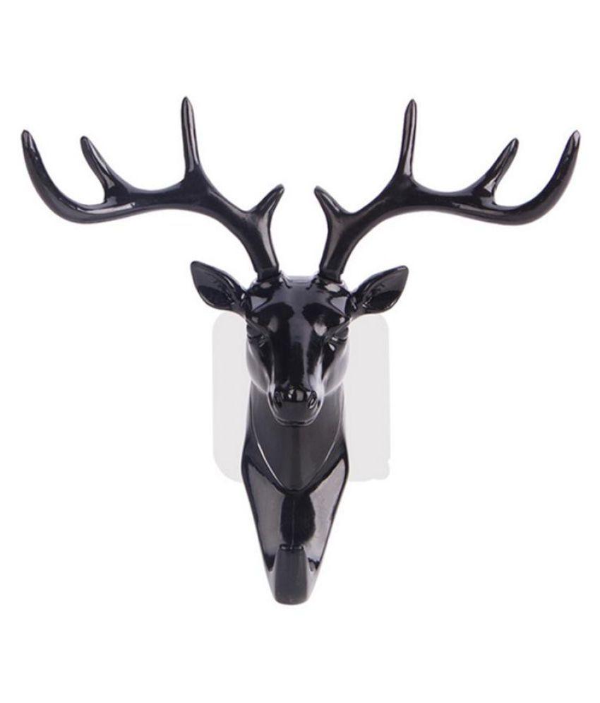 3D Deer Head Shape Wall Decoration Living Room Bedroom ...