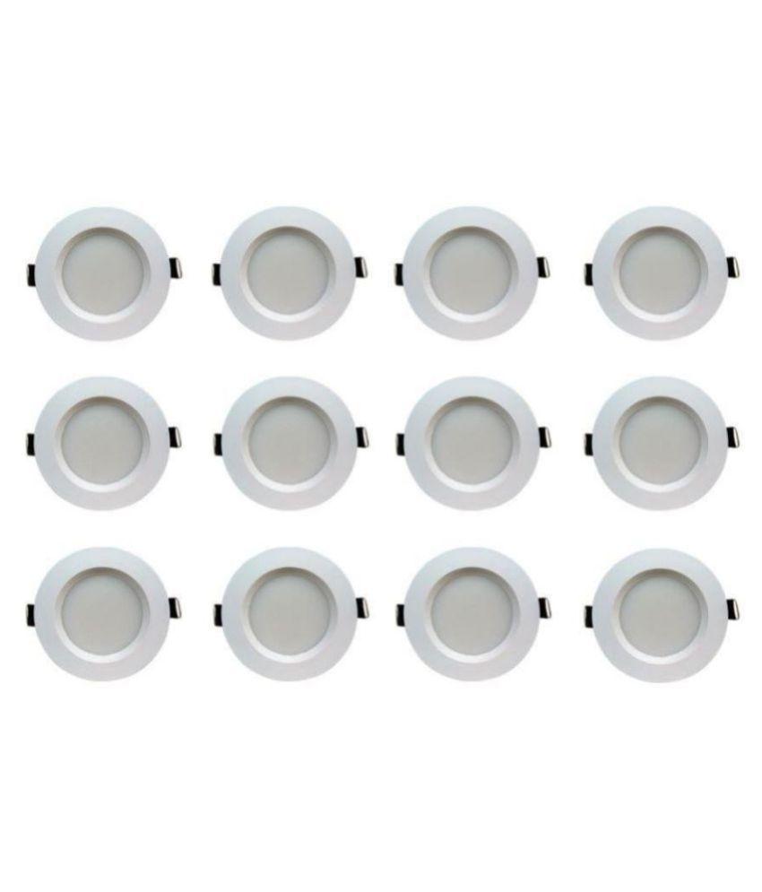 Bene 5W Round Ceiling Light 10.5 cms. - Pack of 12
