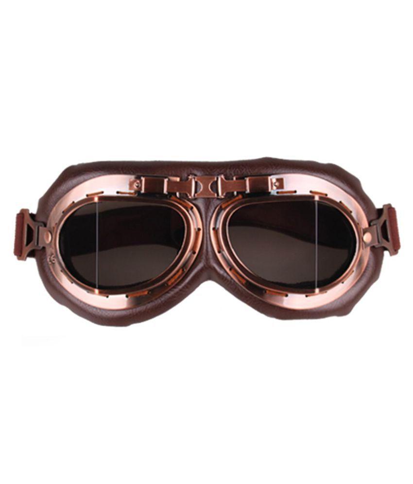 Vintage Motorcycle Goggles Motocross Aviator Pilot Bicycle Glasses Eyewear