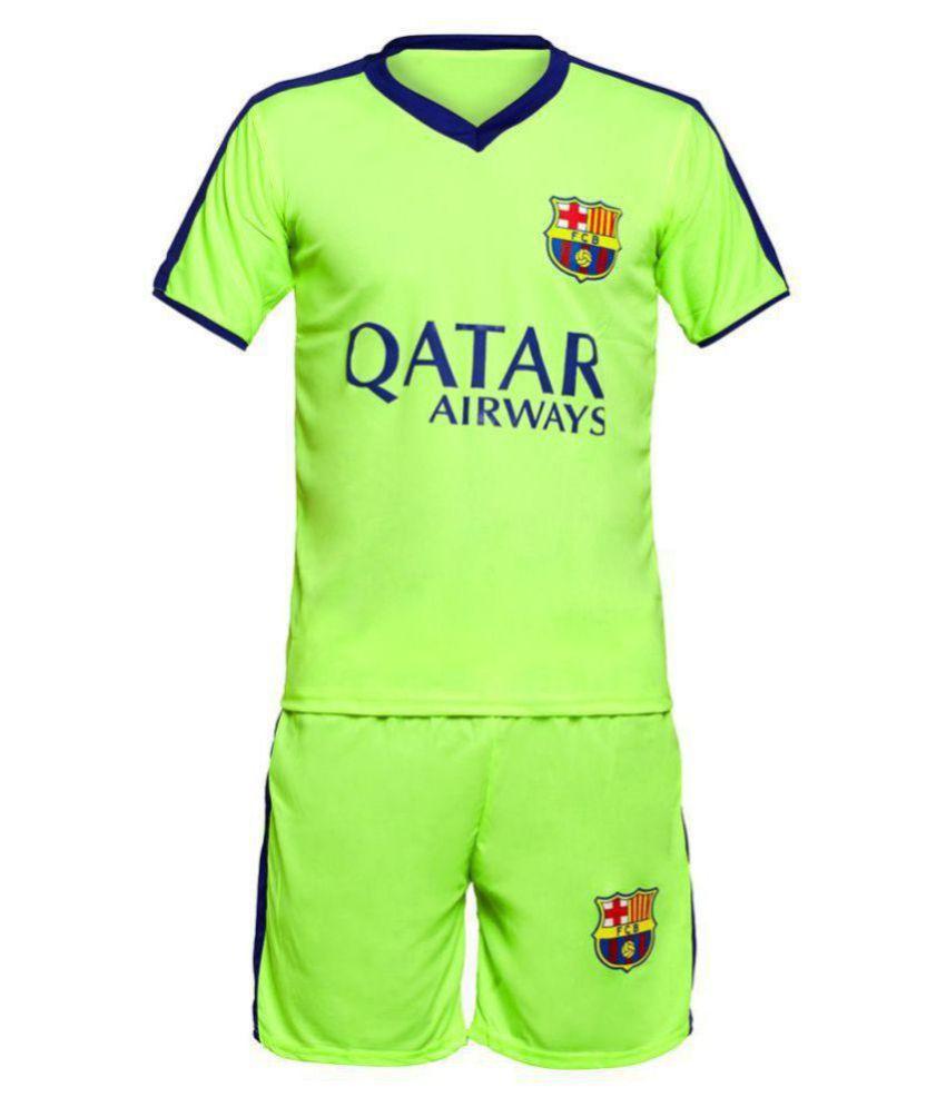 best website 4b4b1 04260 Sportigo Replica FC Barcelona KIDS Football Jersey Set - Green/Blue