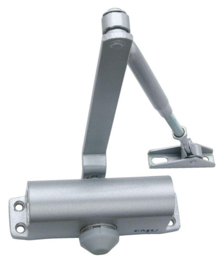 EMU Aluminium Hydraulic Door Closer with Silver Finish (EDC01S)