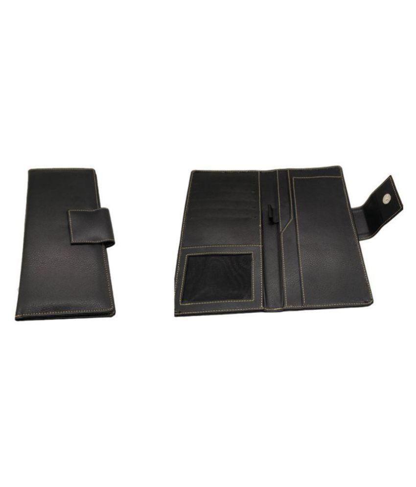Essart Black Wallet