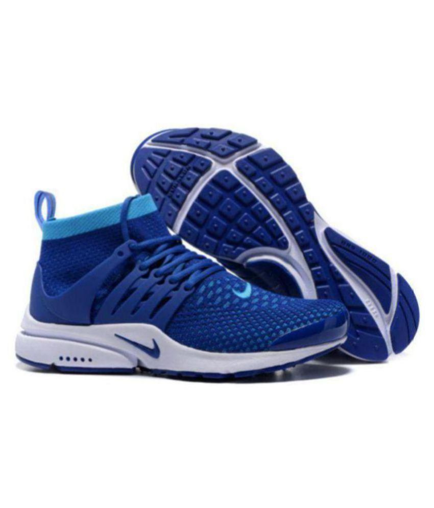 e9b13df58426 Nike presto BRS 1000 DURALON Running Shoes Blue For Gym Wear  Buy Online at  Best Price on Snapdeal