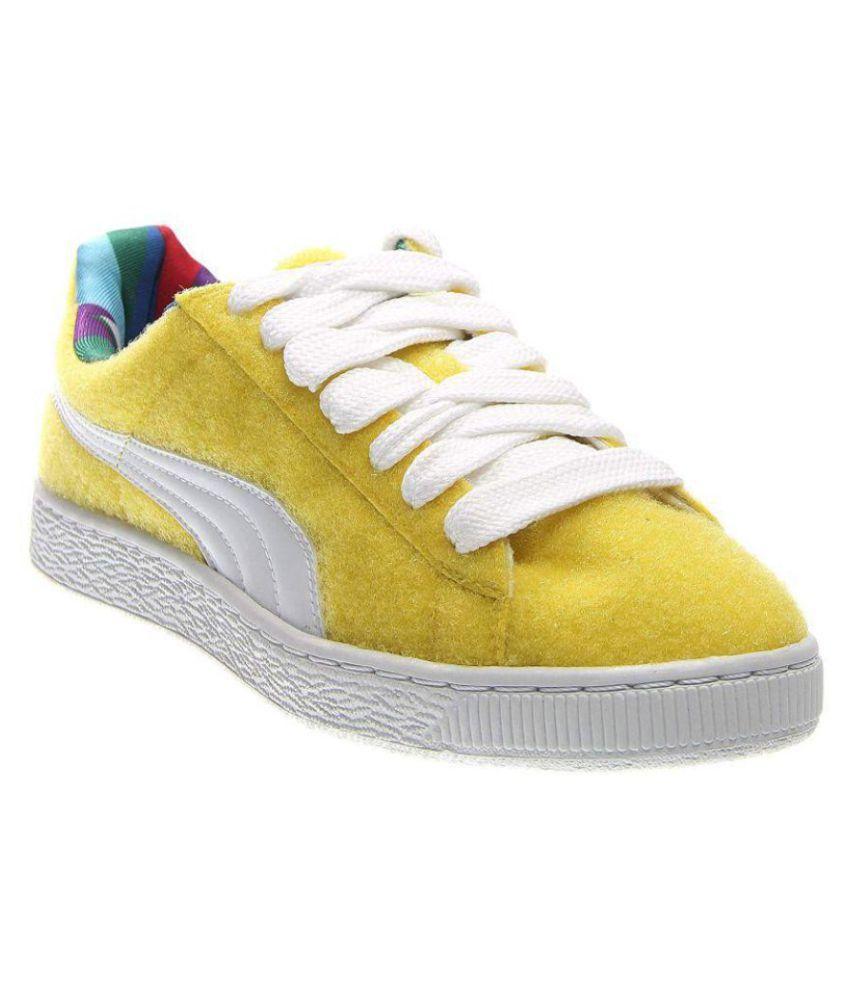 more photos f9dfe 1edc3 Puma Yellow Casual Shoes