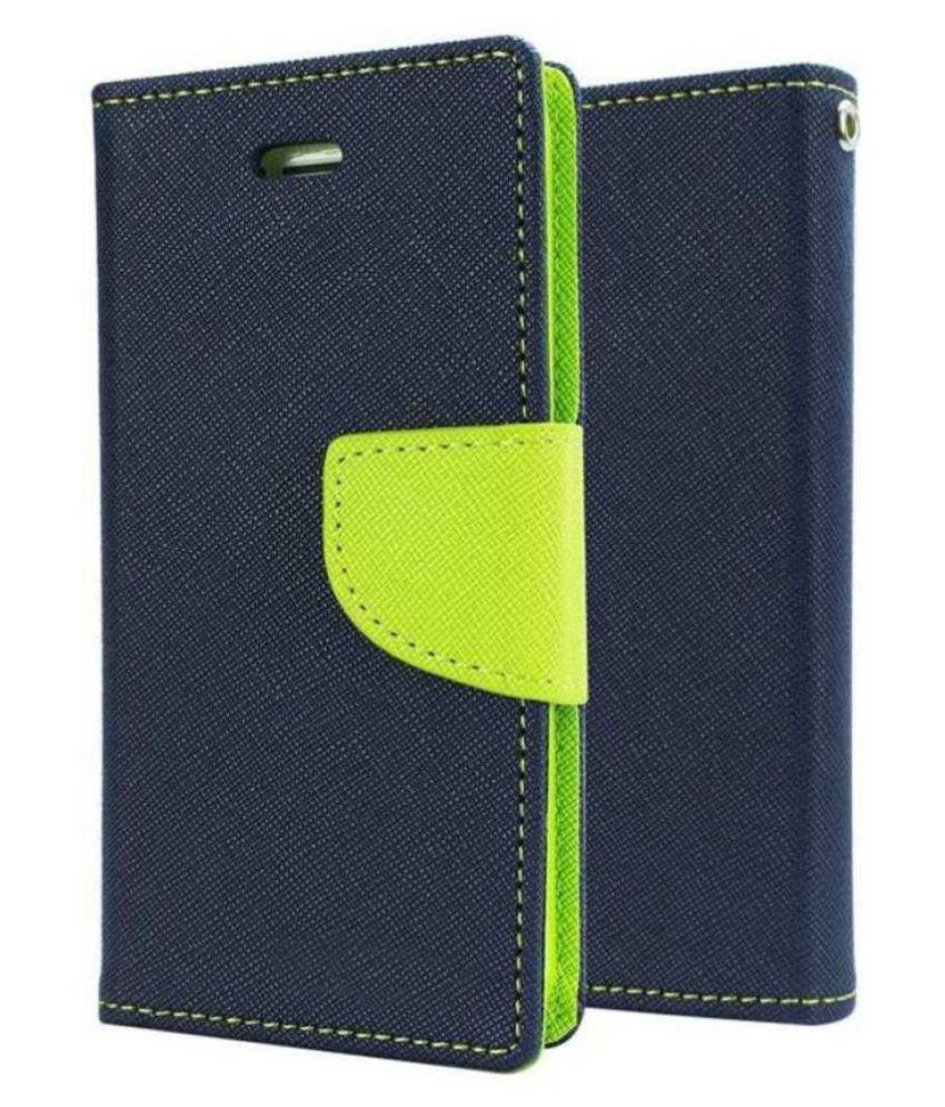 Nokia 5.1 Flip Cover by Dirar - Blue