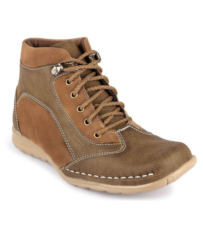Footista Olive Casual Boot