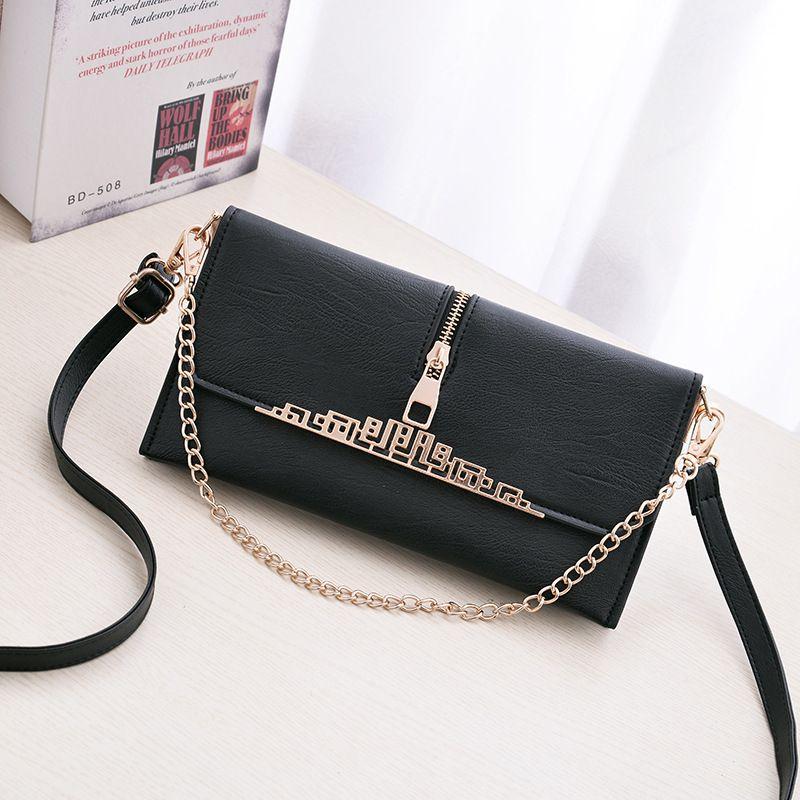 Levaso Black Pure Leather Crossbody
