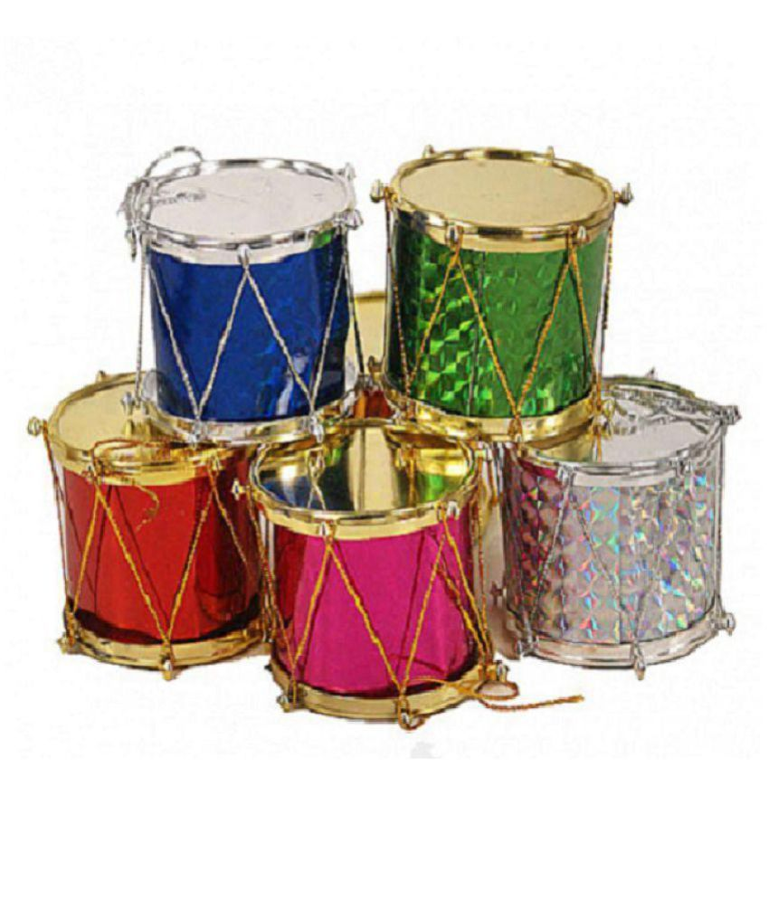 Christmas Drum Decor.Fragrance N Beauty Christmas Decor Christmas Tree Pack Of 6