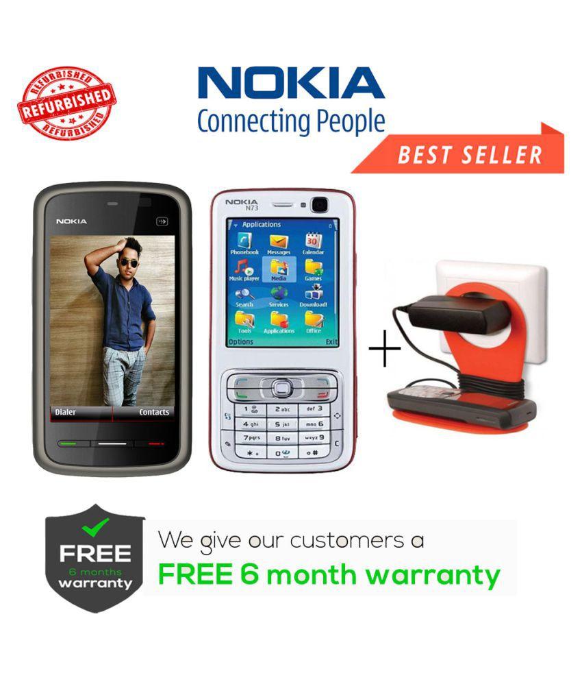Refurbished Nokia 5233 & N73 Get Charger Stand Black