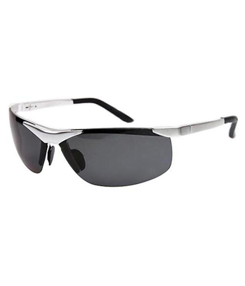 Men's Cool Fashion Police Metal Frame Polarized Sunglasses Driving Glasses