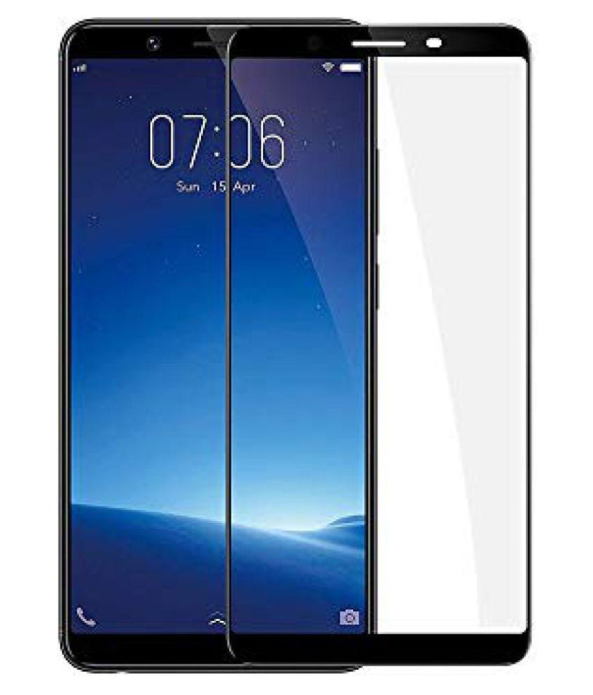 Vivo Y71 5D Tempered Screen Guard By lenmax UV Protection,Anti Reflection.