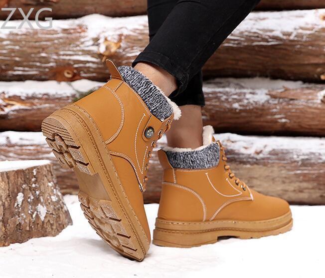 Niti Brown Snow Boot