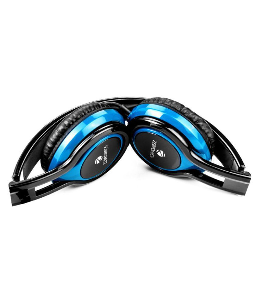 Zebronics Buzz Over Ear Wired Headphones With Mic
