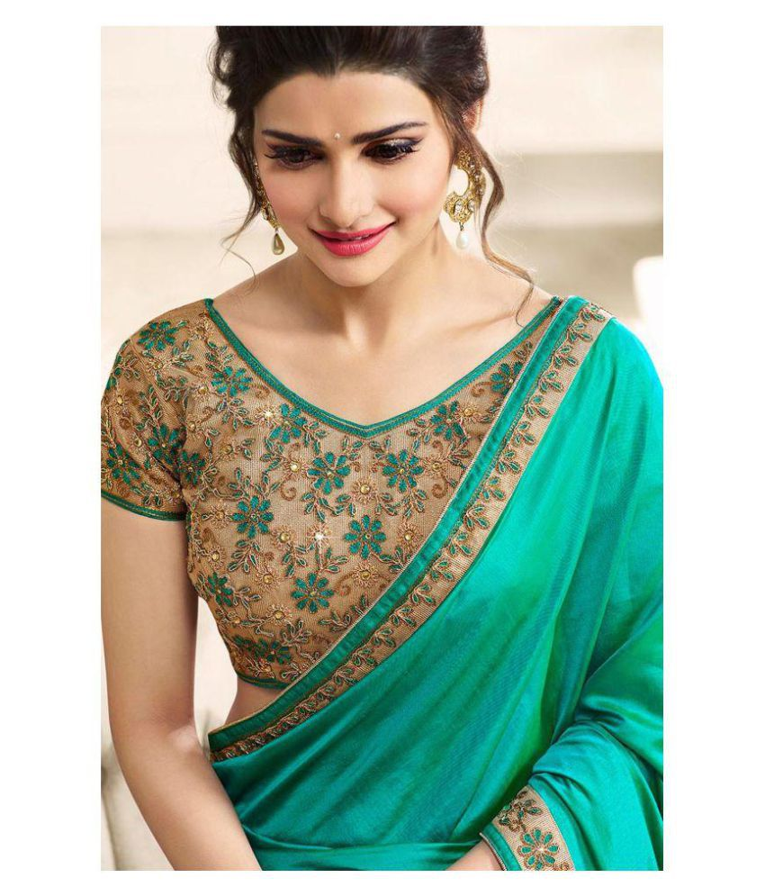 ccc5c00957 LAXMIPATI FASHION Beige,Green Paper Silk Saree - Buy LAXMIPATI FASHION  Beige,Green Paper Silk Saree Online at Low Price - Snapdeal.com