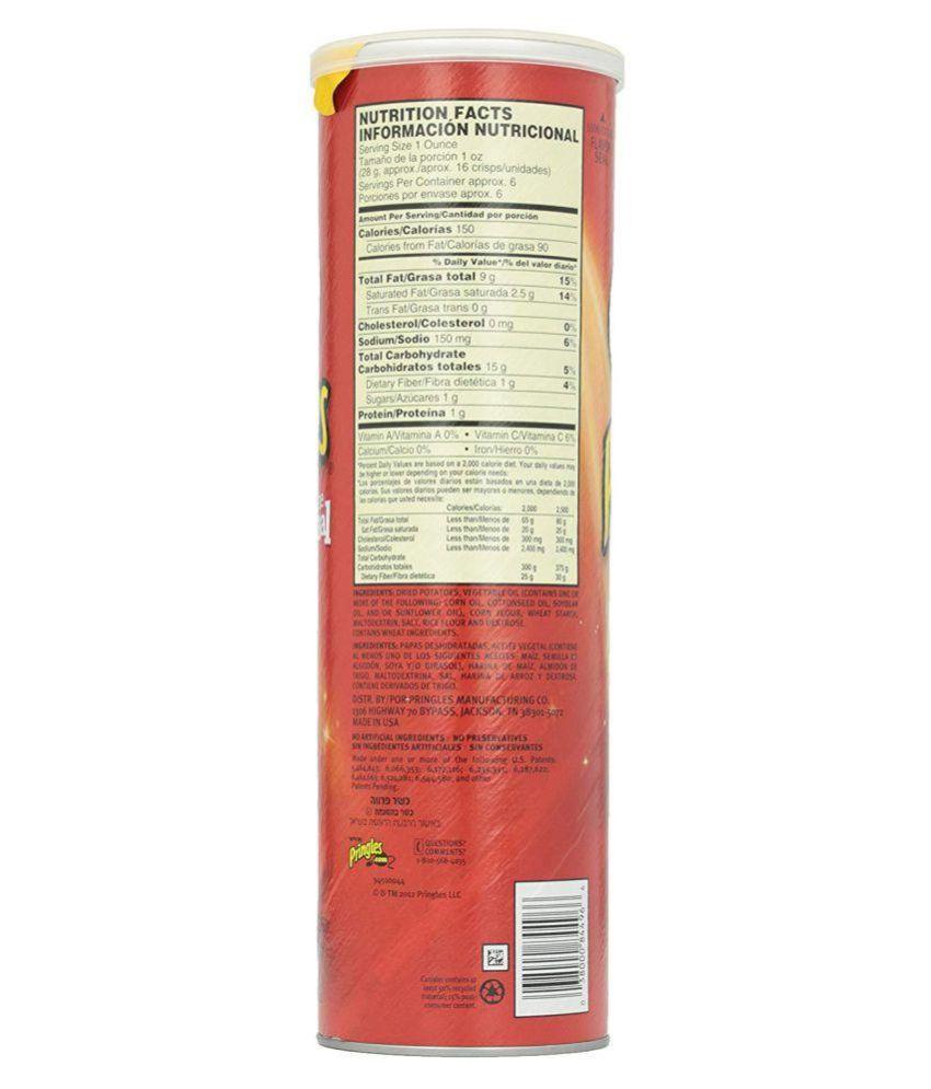 Pringles Original Potato Chips 165 gm