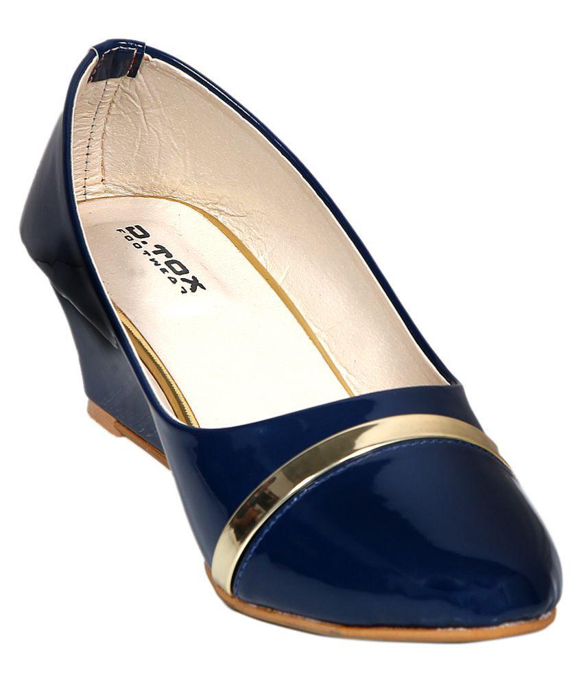 DTOX Blue Block Heels