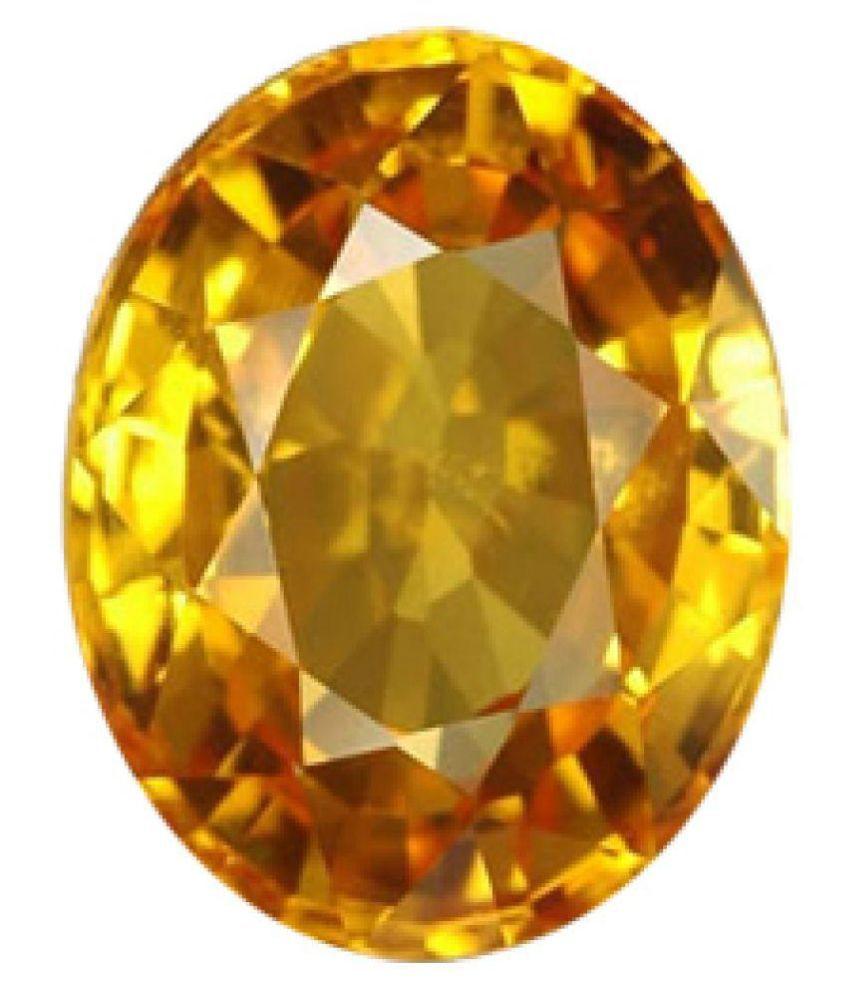 8.25 Ratti Natural Yellow Topaz Gemstone