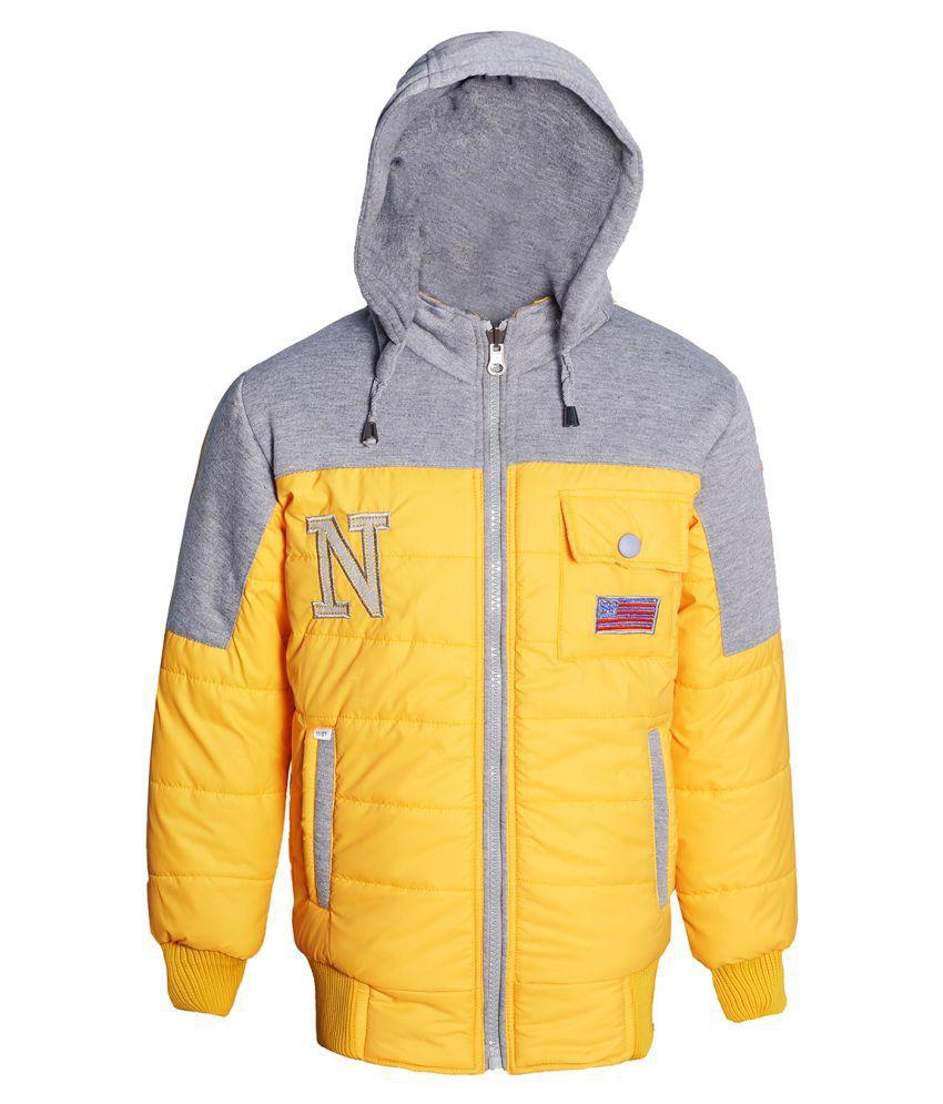 Naughty Ninos Boys Yellow Reversible Jacket