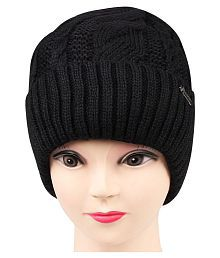 4306b158740 Quick View. Bongio women s Black Woolen cap