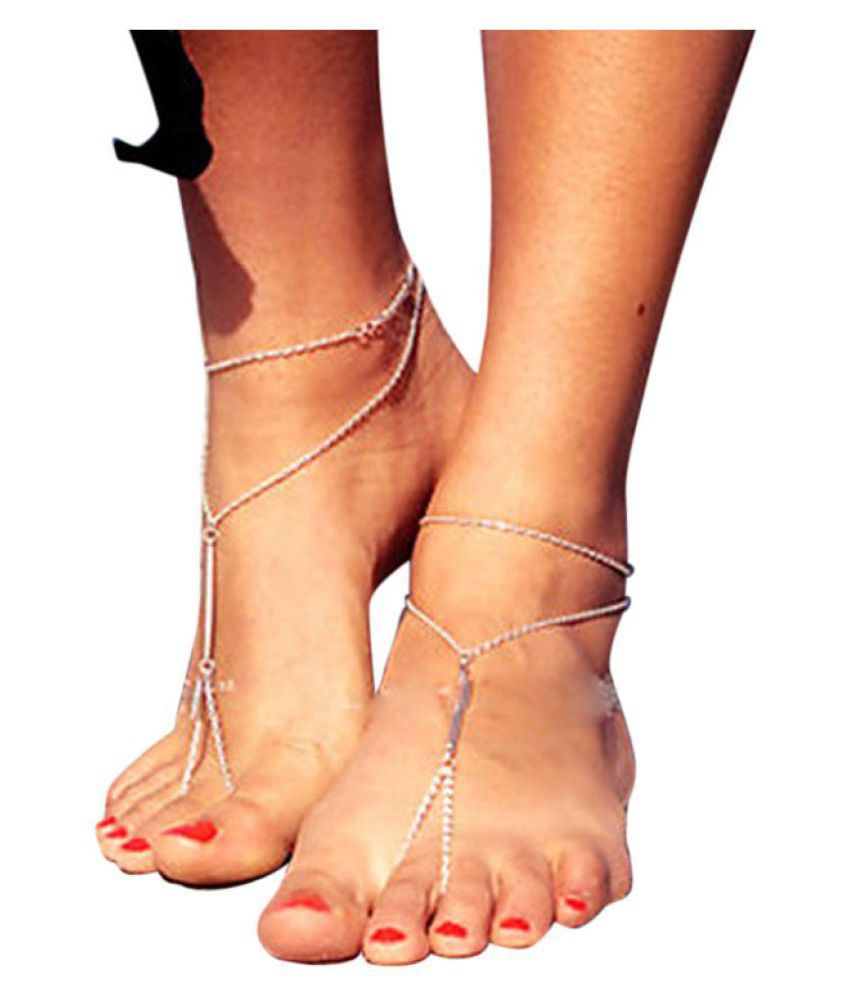 Simple Toe Ring Anklet