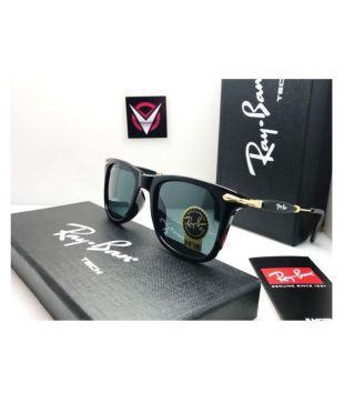 be9640b597 Criba Retro Square Sunglasses(Blue) Fastrack UV protected Square Mens  Sunglasses (P357BK1