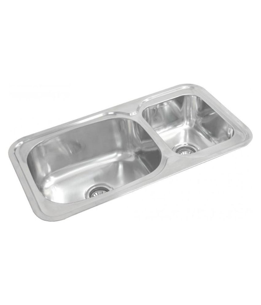 Hafele BLANCO Stainless Steel Double Bowl Sink Without Drainboard
