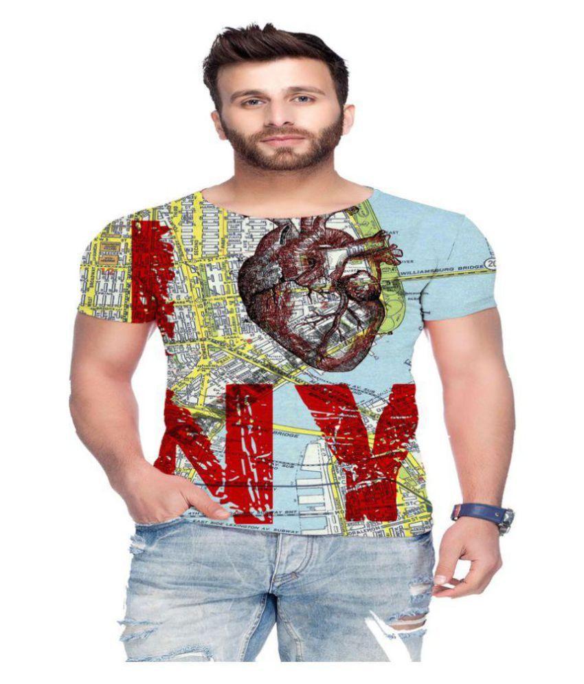 Raves Multi Half Sleeve T-Shirt