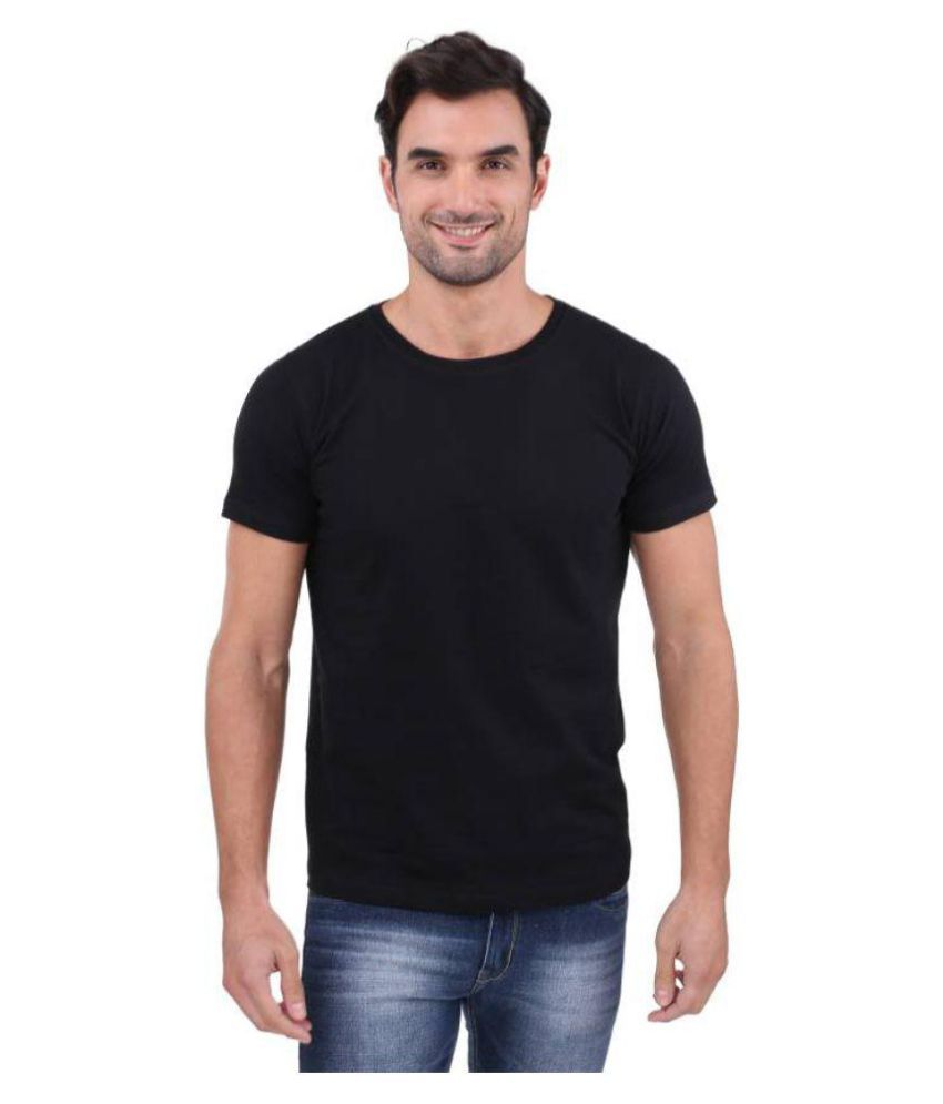 Eyes Black Half Sleeve T-Shirt Pack of 1