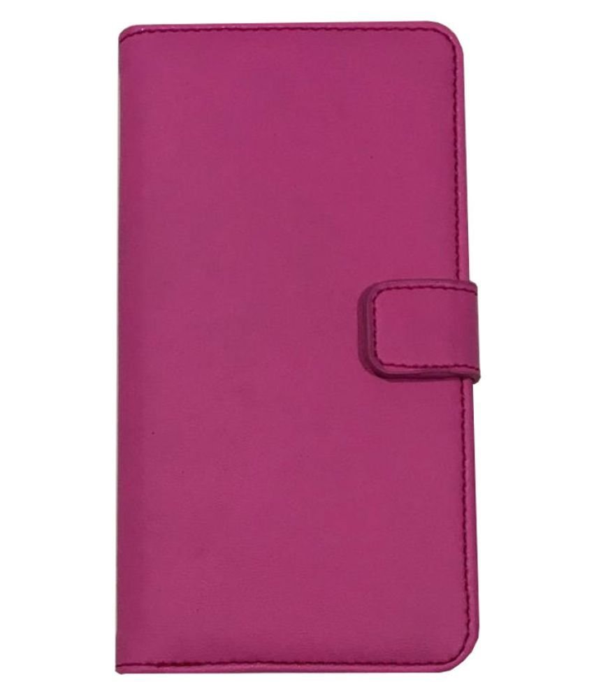 Oppo A3S Flip Cover by Zocardo - Pink