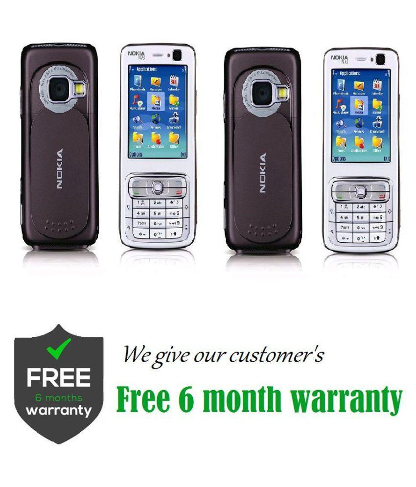 Refurbished Buy Nokia N73 Get Nokia N73 Blue - Feature Phone