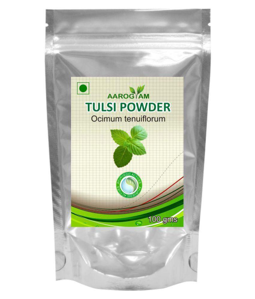 Aarogyam Tulsi Powder 100 gm Pack Of 2