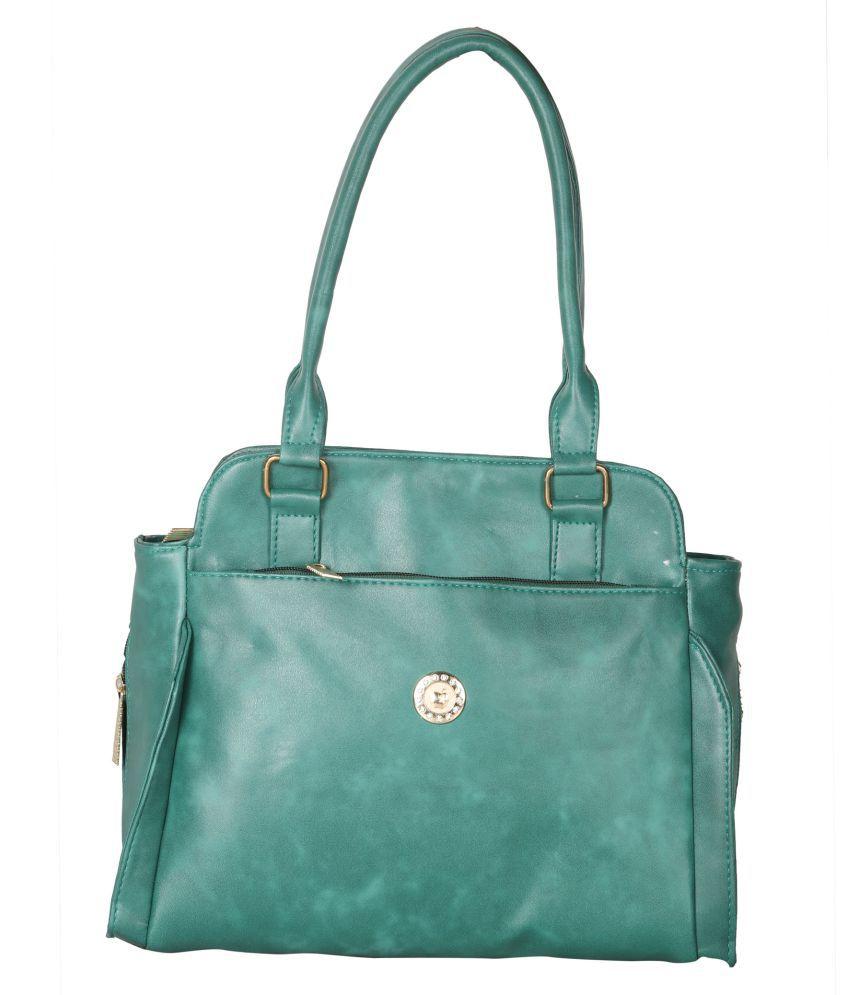 Goodwin Green P.U. Shoulder Bag