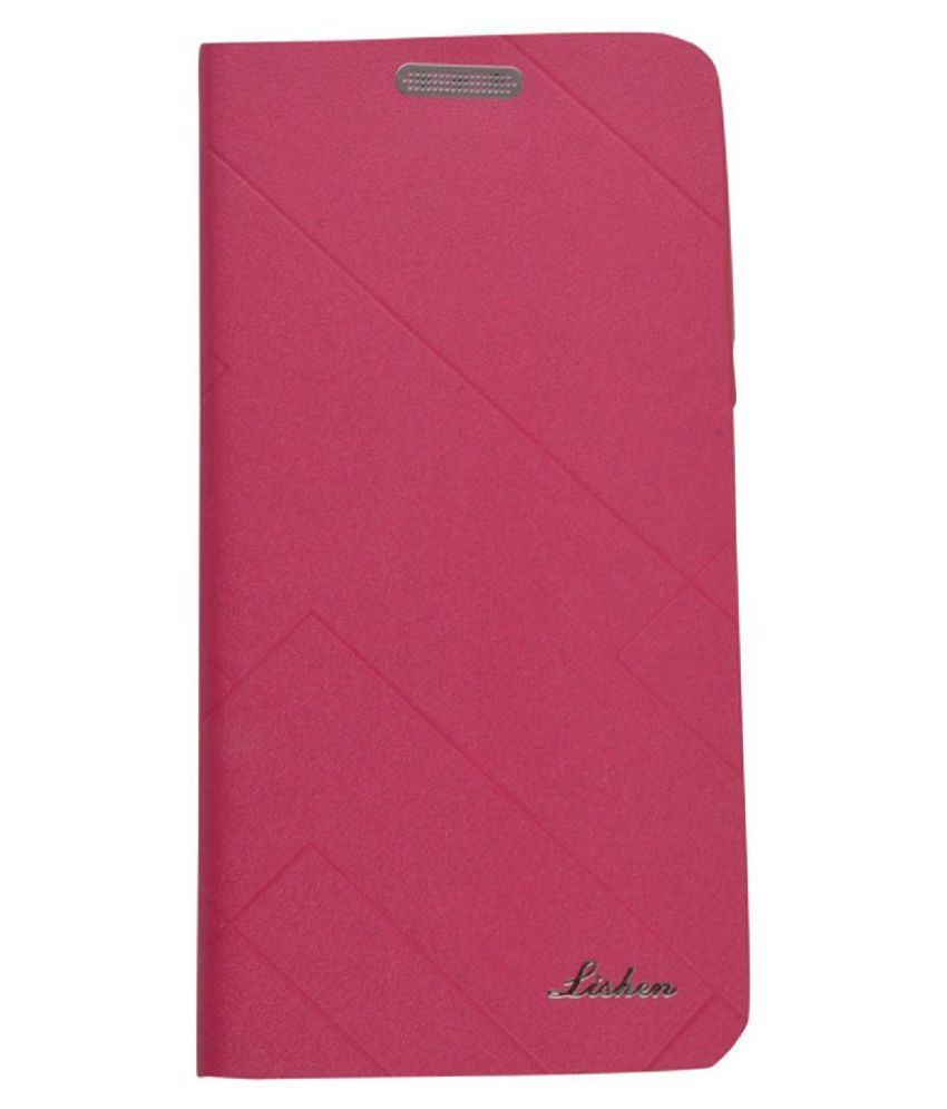 Sony Xperia T2 Flip Cover by Shanice - Pink Lishen Flip Cover