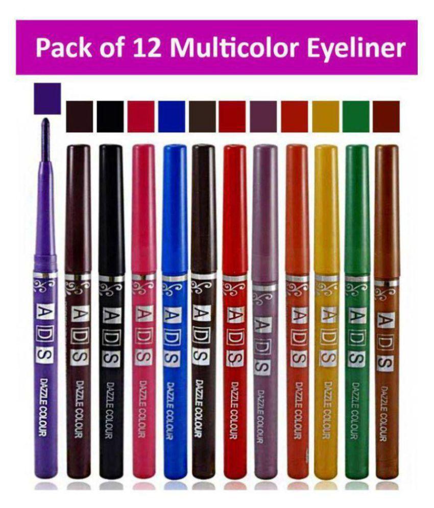 ADS Pencil Eyeliner Multicolor 3