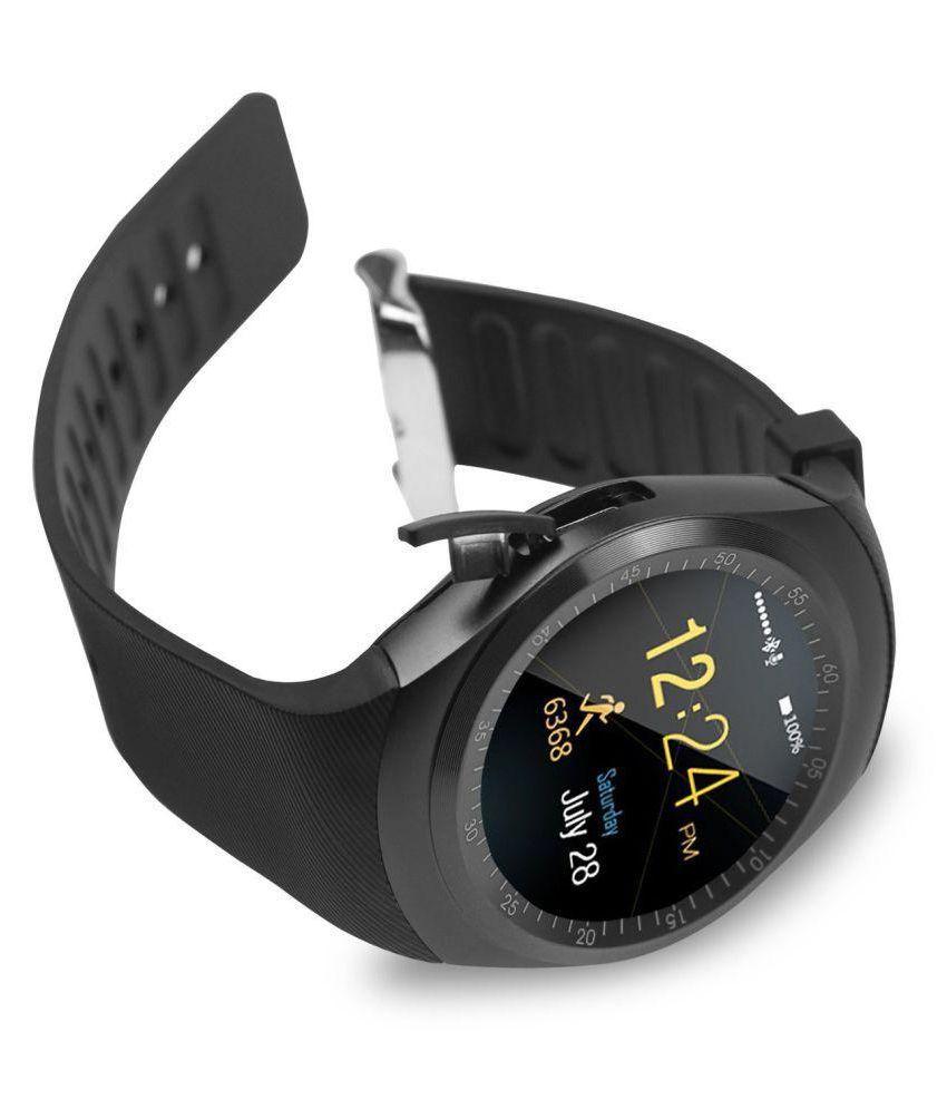 Un-Tech Y1 Smart Watch Touch Screen Support SIM Sd Card Smart Watches