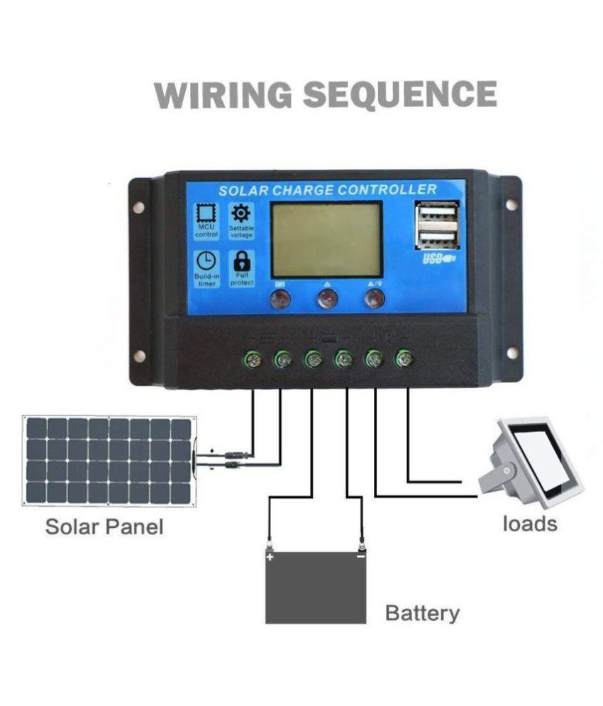 Techtest High Quality 30a 12v 24v Pwm Solar Charge Controller Price Technology How To Wire Two Panels In Parallel With