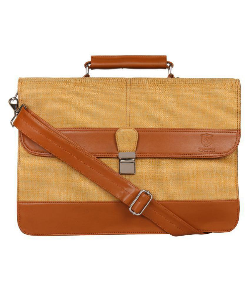 Zeppar Messenger Bag(Tan) Tan Office Messenger Bag