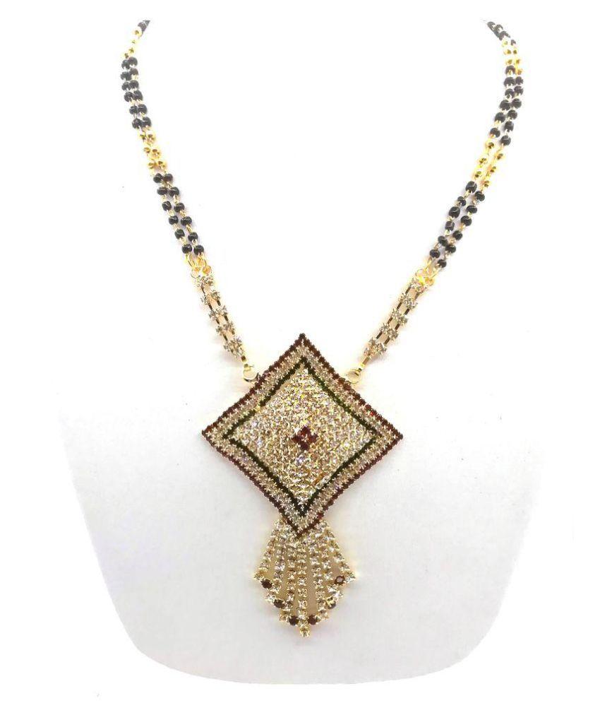 Reyaz Collections Diamond Look Heavy Design Mangalsutra Wedding and Festive Wear